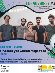 Festival de Jazz 2019. Plachta y la Cocina Magnética